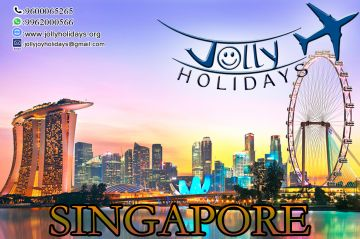 - Jolly Holidays!!! Package For Singapore Tour 15000