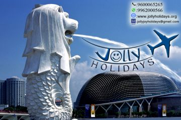 Super Singapore Tour Package  RS.13999 -Jolly Holidays !!!
