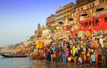 Golden Triangle Holy Tour With Khajuraho And Varanasi