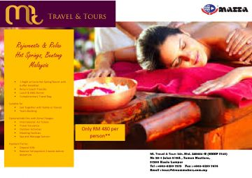 RELAX & REJUVANATE HOT SPRING PACKAGE