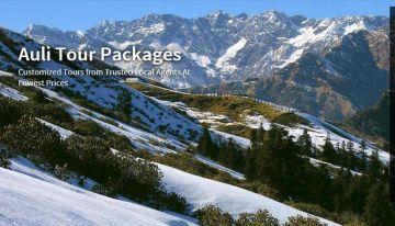 Auli   3 nights - 4 days  Package  MINIMUM 4 PAX  Ex-  Dehardun / Haridwar / Rishikesh
