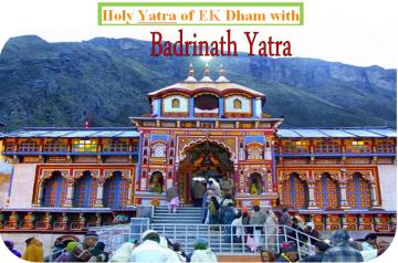 BADRINATH EK DHAM  YATRA    2 Nights - 3 days  Package From