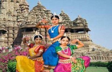 Khajuraho tour package 3 nights 4 days Dance festival