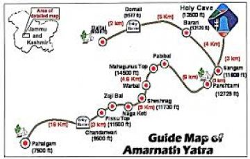 Amarnath Darshan Package 3Night / 4Days