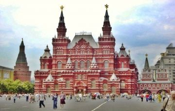Russia- A Family Exploration