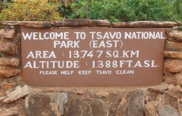2 DAYS 1 OVER NIGHT TSAVO EAST