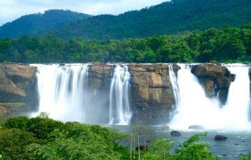 The Niagra Falls Of India At Athirapally