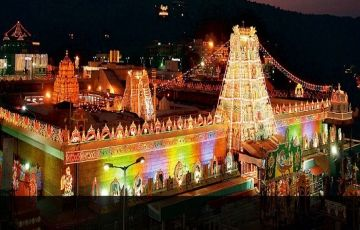 Tirupati 1 Day Tour Plan Holiday Package To Balaji Dharshan Iskon Temple For 1 Nights 2 Days