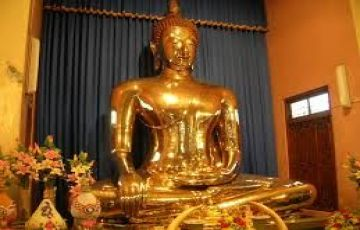 At the Footsteps of Buddha