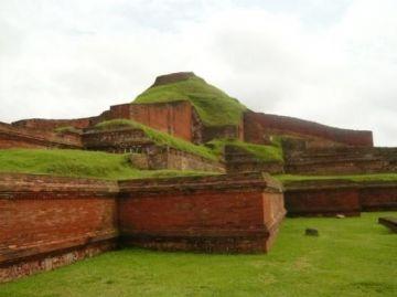 Biggest Buddhist Monument at Paharpur in Bangladesh