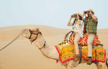 Camel Safari Tour In The Thar Desert