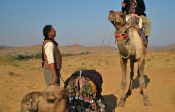 Camel Safari With Rajasthan Cultural Tour