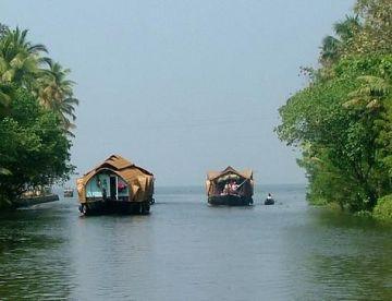 Kerala Hills Station and Backwater Tour