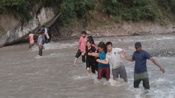 River Trekking & Stay In side Forest