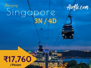 Wonderful Singapore 4 Days / 3 Nights Exclusive Tour Package
