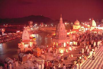 Haridwar,  Nainital,  Ranikhet,  Bhimtal,  Dehradun,  Mussoorie