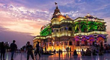 Delhi Agra Mathura & Vrindavan Tour by Car