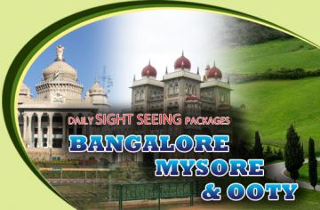 Bangalore / Mysore / Ooty Tour Package