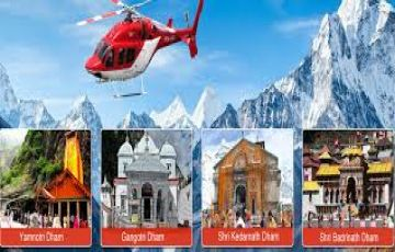Char Dham Helicopter Package