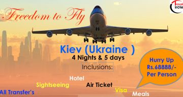 Kiev- Freedom to Fly- All Included