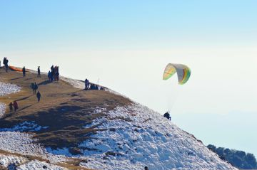 Paragliding and Camping in Bir-Billing.