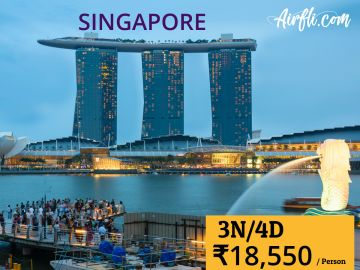 Dream Singapore 4 Days / 3 Nights Exclusive Tour Package