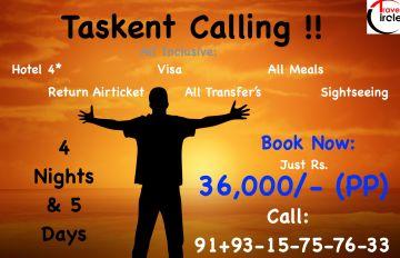 Tashkent Calling - All Inclusive - 36,000 PP
