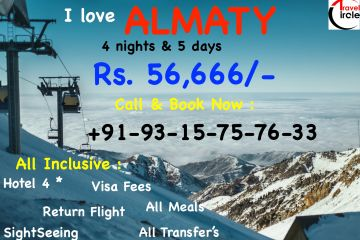 Holiday Special - Oct-  Almaty- All Inclusive - 56,666/-