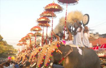 THRISSUR HINDU PILGRIMAGE TOUR PACKAGE 2 NIGHTS AND 3 DAYS