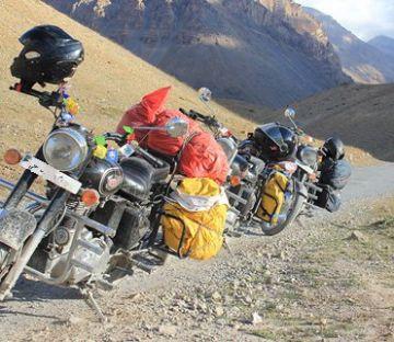 OLD HINDUSTAN TIBET ROAD MOTOR BIKE SAFARI TOUR PACKAGE 2 NI