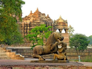 KHAJURAHO WHERE LOVE AND PASSION ARE WORSHIPPED