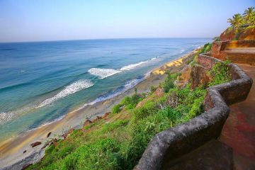 BEST PLACES TO VISIT IN SOUTH INDIA VARKALA