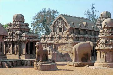 BEST PLACES TO VISIT IN SOUTH INDIA MAHABALIPURAM