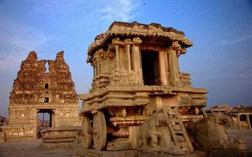 VISIT THE RUINS OF A 14TH CENTURY CITY HAMPI