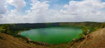 VISIT THE SALINE LONAR CRATER LAKE