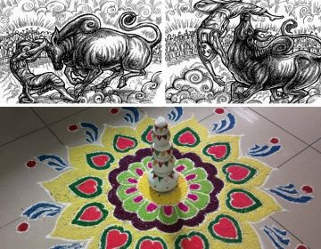 FAMOUS FESTIVALS OF INDIA PONGAL RICH RANGOLIS AND SWEET SAVORIES