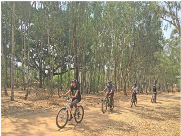 CYCLING POPULAR ADVENTURE SPORTS ACTIVITIES  IN GOA