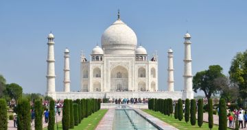 AGRA FOR ITS UNPRECEDENTED MUGHAL GRANDEUR