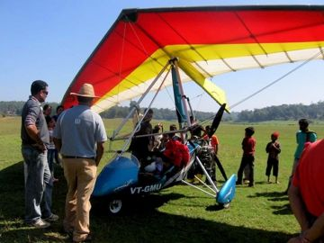 MICROLIGHT FLYING IN BANGALORE