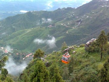 CABLE CAR RIDE IN MUSSOORIE
