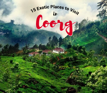 CYT Bangalore  Coorg  package  2N/3D