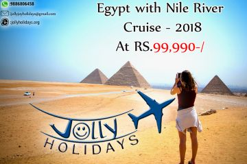 Egypt with Nile River Cruise - Rs.99000 - Jolly Holidays!!!