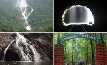 Goa trip to Dudhsagar Falls