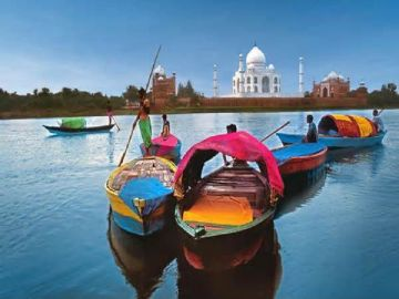 Kashi with Taj Mahal & Delhi City Tour