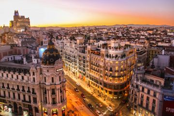 Sunrise in Spain