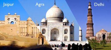 Delhi-Agra-Jaipur