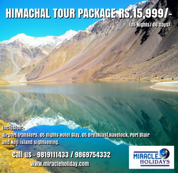 Himachal Pradesh Tour Package for o6 Days