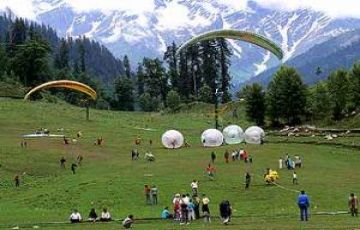 kullu manali tour package Ex. delhi