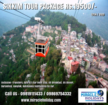 Sikkim Tour Package for 06 Days