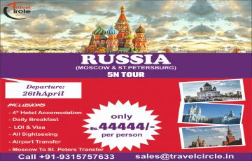 Sizzling Russia Moscow & St.Petersburg